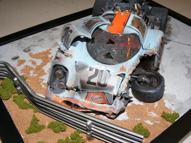 Slot car accident