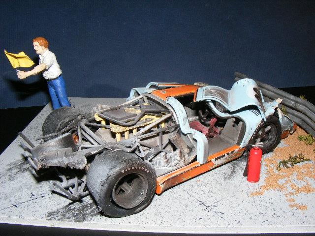 Movie Le Mans crash