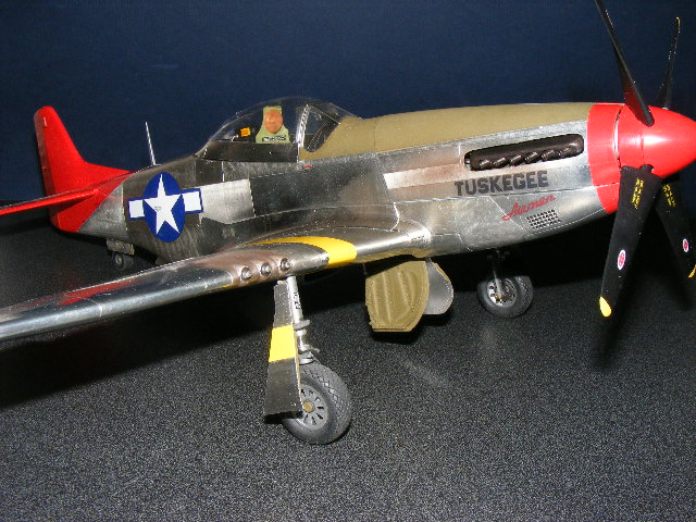P51 Red Tail Mustang