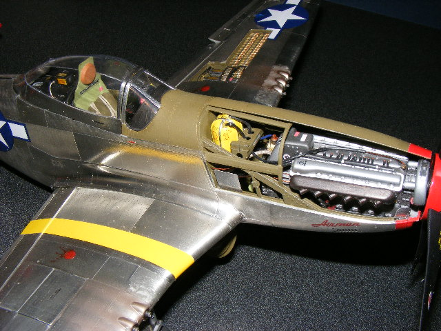 P51 Engine Detail
