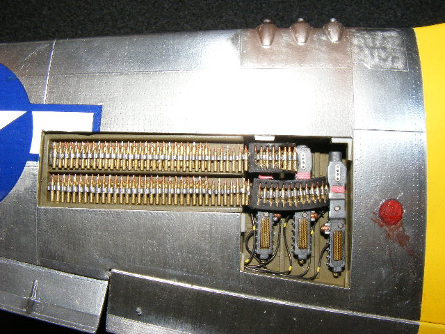 P51 Machine Gun Bay