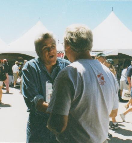 Jay Leno at Laguna Seca